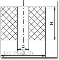 hohlpuffer-federn zeichnung